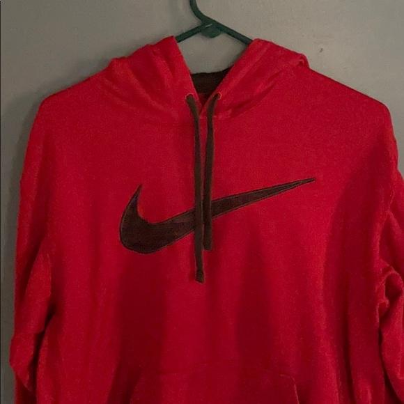 arena Ten cuidado esculpir  Nike Shirts   Mens Red Black Hoodie   Poshmark